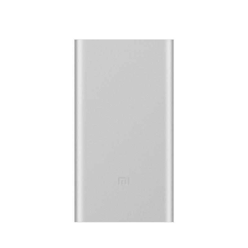 Внешний аккумулятор Mi Power Bank 2 10000 мАч silver на сайте xiaomi-gatget.ru